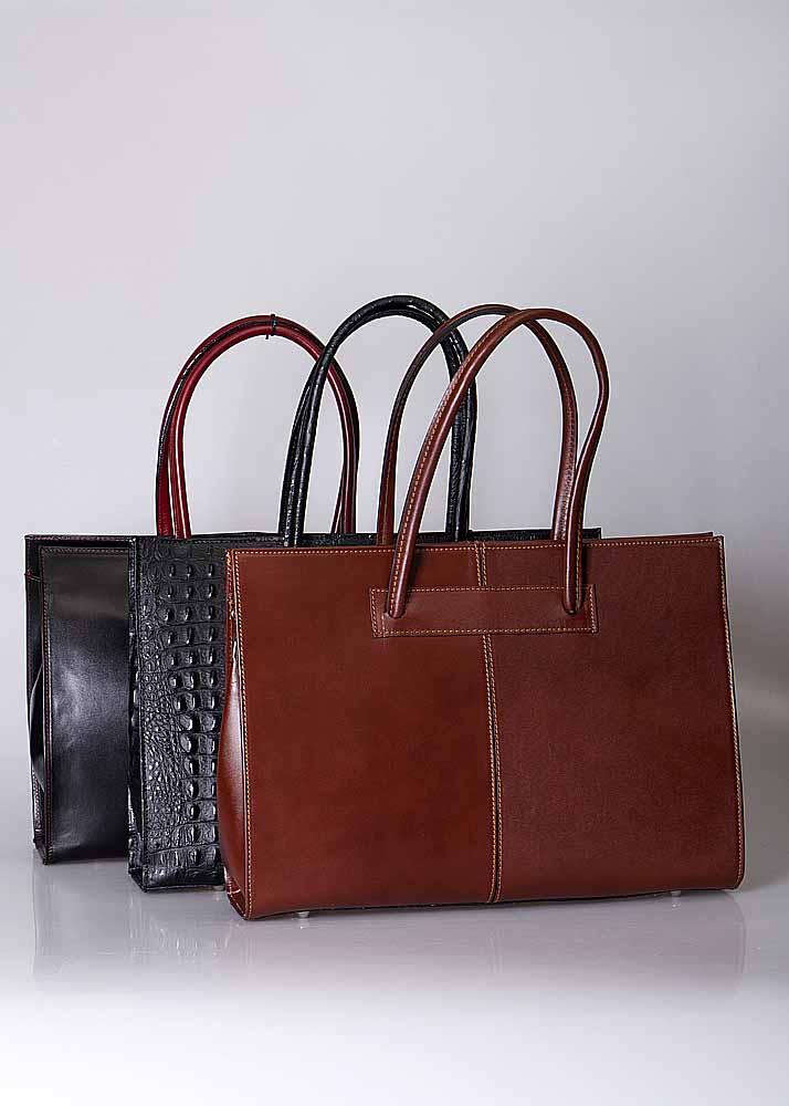 Elegante dames businessbag, ook geschikt voor laptop