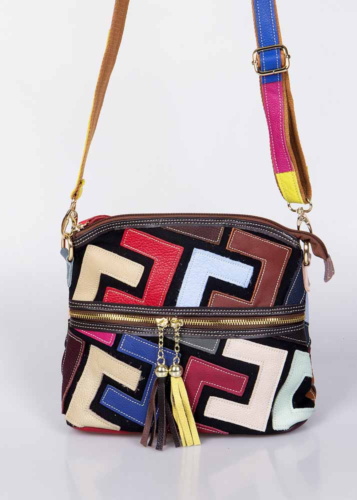"Crossbody tasje-clutch ""Facerias"""